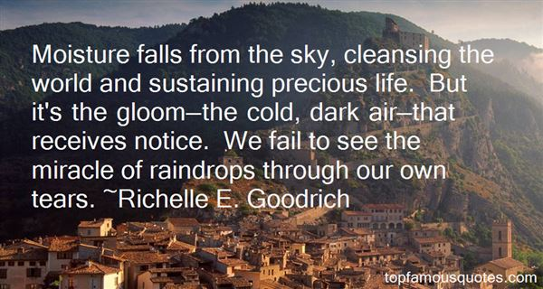 Quotes About Cleansing Rain