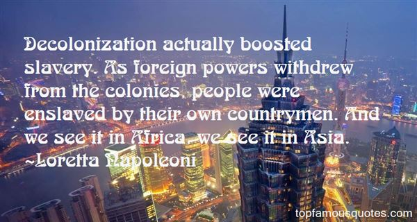 Quotes About Colonization