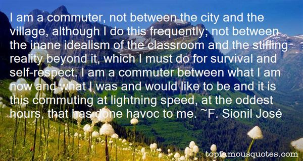 Quotes About Commute