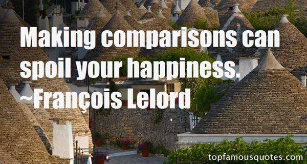 Quotes About Comparisons