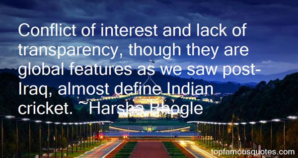 Quotes About Conflict Of Interest