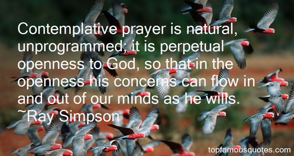 Quotes About Contemplative Prayer
