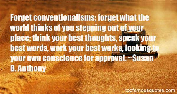 Quotes About Conventionalism