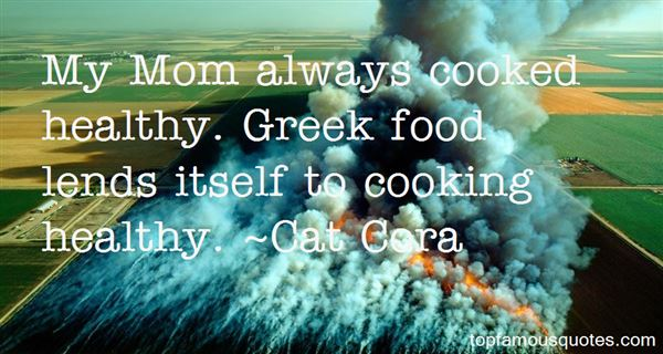 Quotes About Cooking Healthy