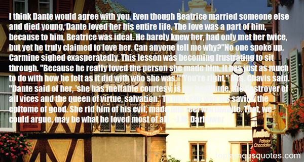 Quotes About Dante And Beatrice