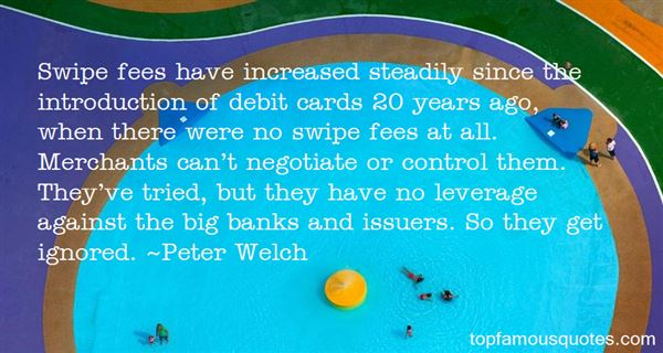 Quotes About Debit Cards