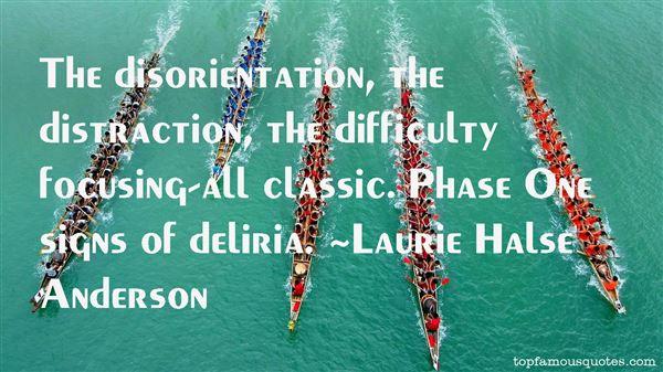 Quotes About Deliria