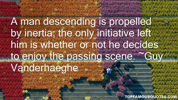 Quotes About Descending