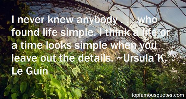 Quotes About Details