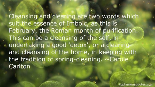 Quotes About Detox