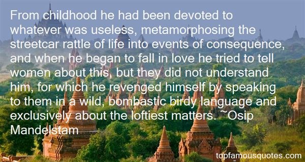Quotes About Devoted Love