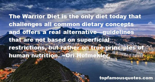 Quotes About Dietary