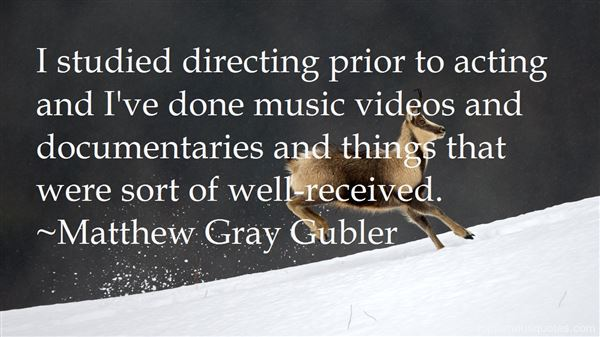 Quotes About Directing