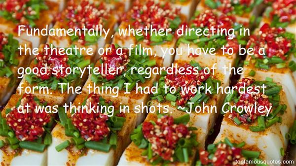 Quotes About Directing Theatre