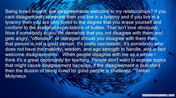 Quotes About Disagreements In Relationships