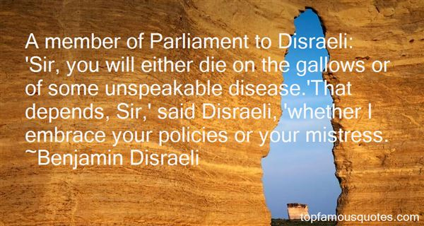 Quotes About Disraeli