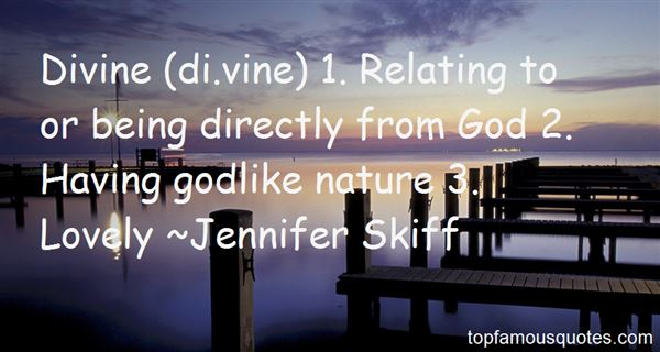 Quotes About Divine Nature