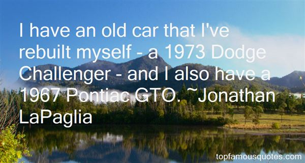 Quotes About Dodge Challenger