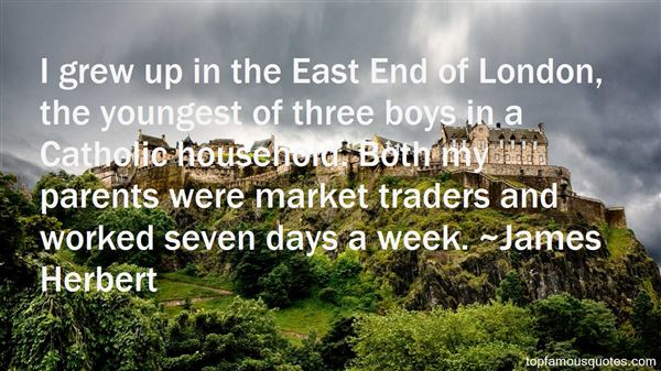 Quotes About East London