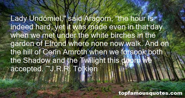 Quotes About Elrond
