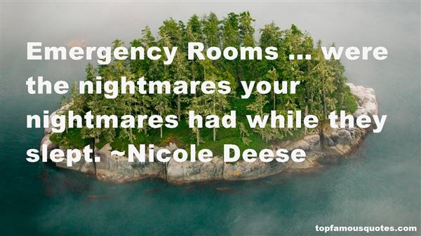 Quotes About Emergency Rooms