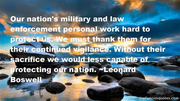 Quotes About Enforcement