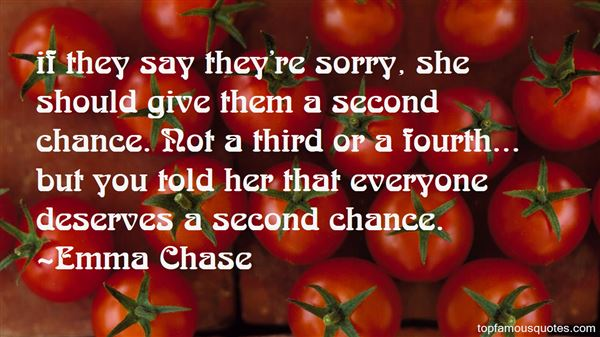 Quotes About Everyone Deserves A Second Chance