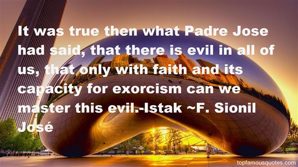 Quotes About Exorcism