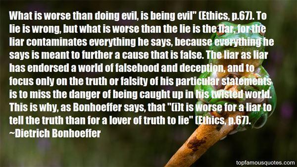 Quotes About False Statements