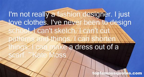 Quotes About Fashion Patterns