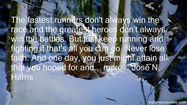 Quotes About Fast Runners