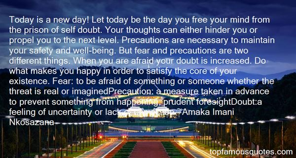 Quotes About Fear And Foresight