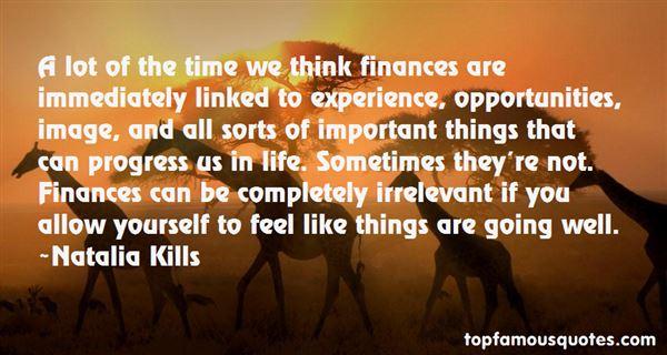 Quotes About Finances
