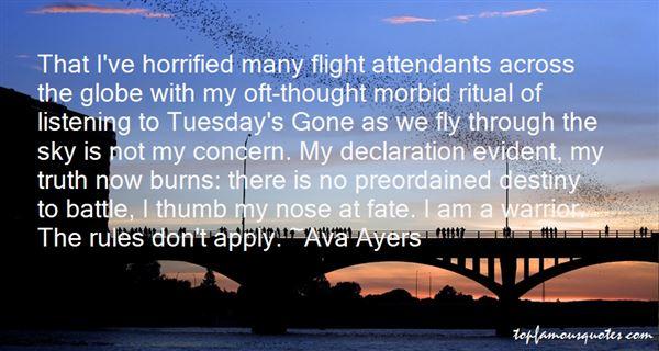 Flight Attendants Quotes: best 4 famous quotes about Flight ...
