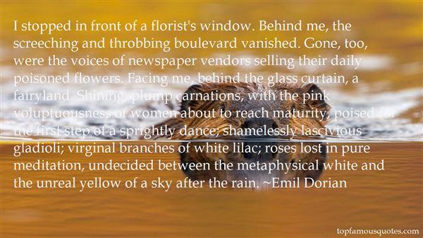 Quotes About Florist