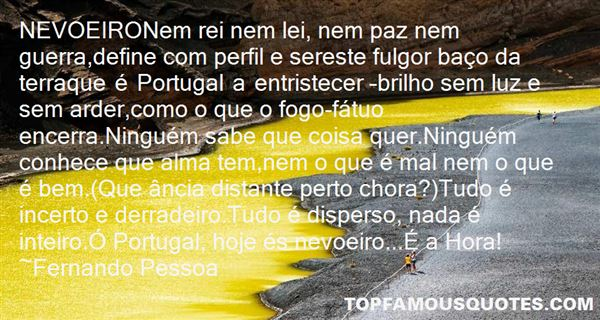 Quotes About Fogo