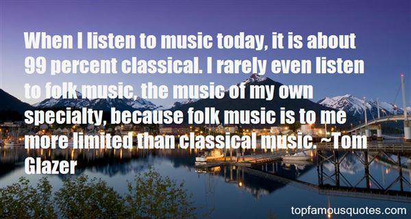 Quotes About Folk Music