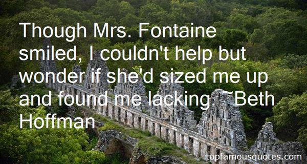 Quotes About Fontaine