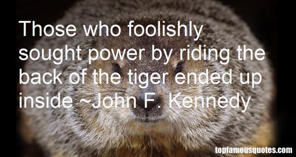 Quotes About Foolishly