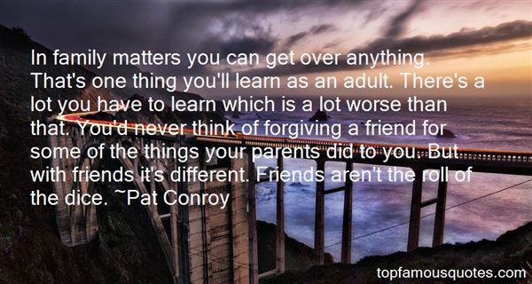 Quotes About Forgiving Your Parents
