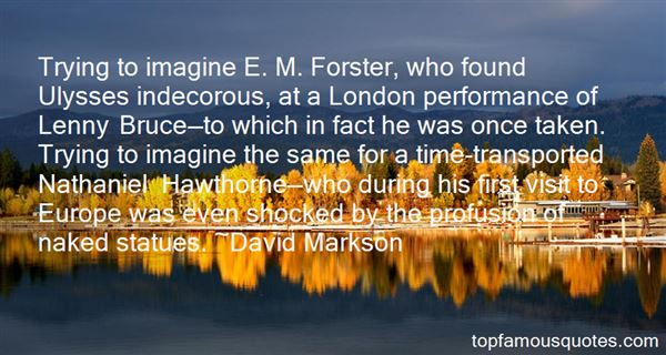 Quotes About Forster