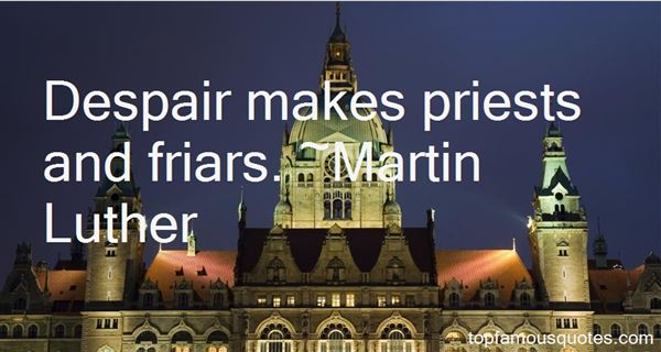 Quotes About Friar