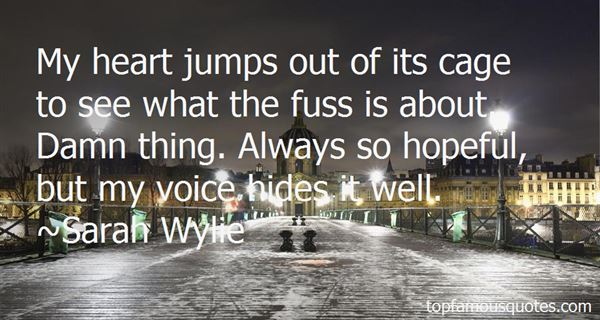 Quotes About Fuss