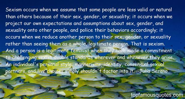 Quotes About Gender And Sexuality