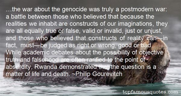 Quotes About Genocide In Rwanda