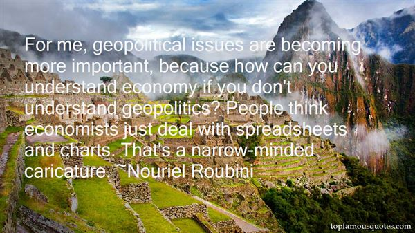 Quotes About Geopolitical