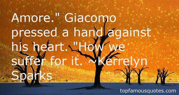 Quotes About Giacomo