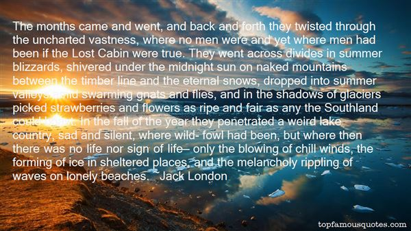 Quotes About Glaciers