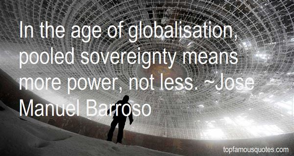 Quotes About Globalisation