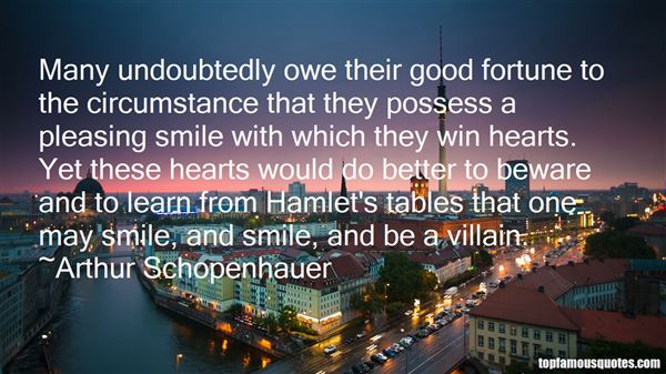 Quotes About Good Fortune